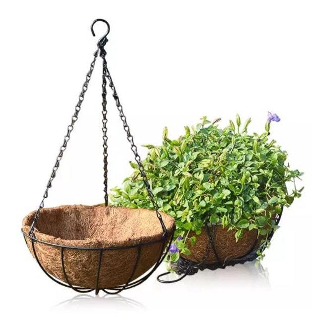 วัสดุที่ใช้ใน การปลูกต้นไม้กระถางแขวน